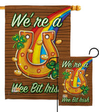 We're a Wee Bit Irish - St Patrick Spring Vertical Impressions Decorative Flags HG102002 Made In USA