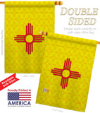 New Mexico - States Americana Vertical Impressions Decorative Flags HG108073 Made In USA