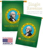 Washington - States Americana Vertical Impressions Decorative Flags HG108101 Made In USA