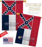 Mississippi - States Americana Vertical Impressions Decorative Flags HG108143 Made In USA