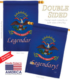 North Dakota - States Americana Vertical Impressions Decorative Flags HG108149 Made In USA