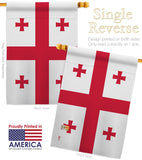 Georgia - States Americana Vertical Impressions Decorative Flags HG140511 Made In USA