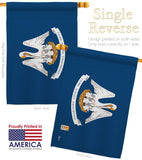 Louisiana - States Americana Vertical Impressions Decorative Flags HG140519 Made In USA