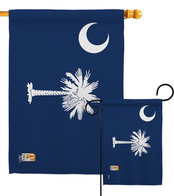 South Carolina - States Americana Vertical Impressions Decorative Flags HG140541 Made In USA