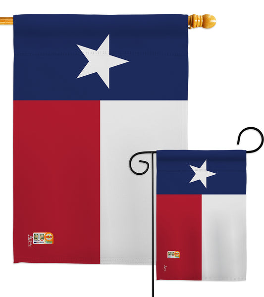Texas - States Americana Vertical Impressions Decorative Flags HG140544 Made In USA