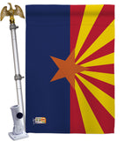 Arizona - States Americana Vertical Impressions Decorative Flags HG140503 Made In USA