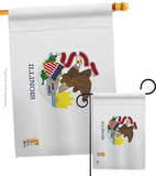 Illinois - States Americana Vertical Impressions Decorative Flags HG140514 Made In USA