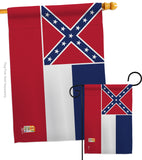 Mississippi - States Americana Vertical Impressions Decorative Flags HG140525 Made In USA