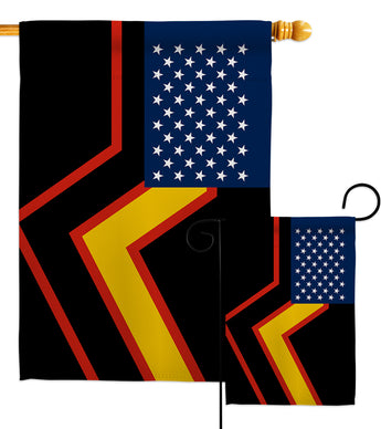 US Rubber Pride - Support Inspirational Vertical Impressions Decorative Flags HG148662 Made In USA