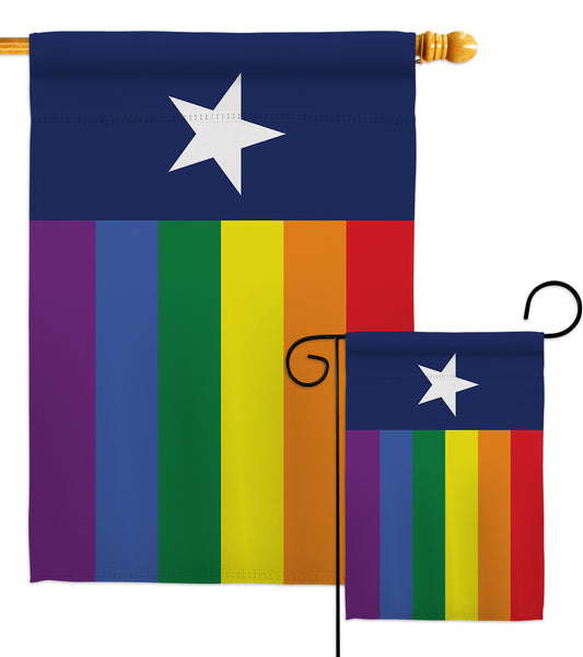 Texas Pride - Support Inspirational Vertical Impressions Decorative Flags HG148682 Made In USA