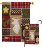Christmas Noel - Winter Wonderland Winter Vertical Impressions Decorative Flags HG114172 Made In USA
