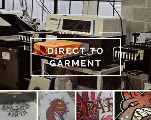 Custom Direct to Garment Printing, Saskatchewan custom