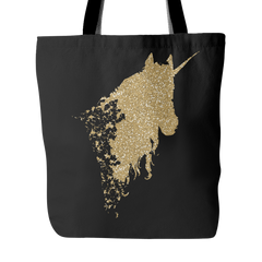 Glitter and Unicorns Tote Bag - Trendsy Tees