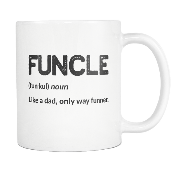 Funcle Definition Mug - Trendsy Tees