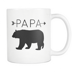Papa Bear Arrows Mug - Trendsy Tees