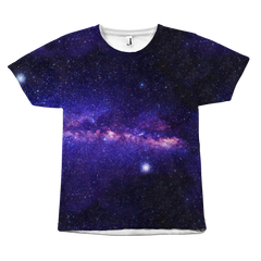 Purple Skies Galaxy T-Shirt - Trendsy Tees