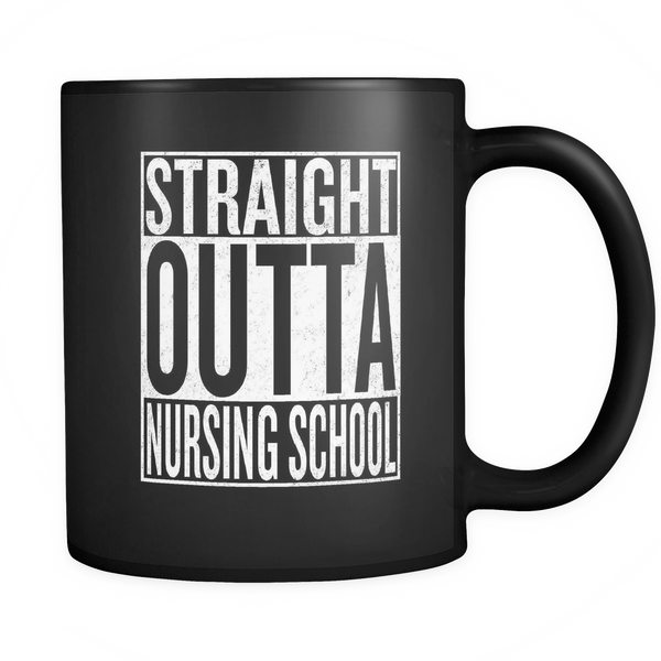Straight Outta Nursing School Mug