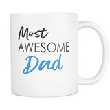 Most Awesome Dad Mug - Trendsy Tees