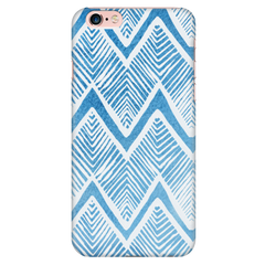 Blue Tribal Stripes Phone Case - Trendsy Tees