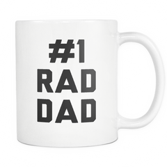 #1 Rad Dad Mug - Trendsy Tees