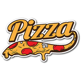 Delicious Pizza Sticker - Trendsy Tees