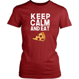 Keep Calm And Eat Pizza T-Shirt - Trendsy Tees