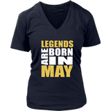 Legends Are Born In May T-Shirt - Trendsy Tees