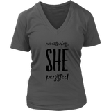 She Persisted T-Shirt - Trendsy Tees