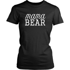 Mama Bear Text T-Shirt - Trendsy Tees