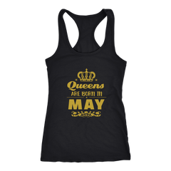 Queens Are Born In May Tank Top - Trendsy Tees