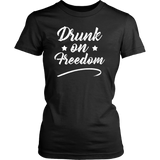 Drunk on Freedom T-Shirt - Trendsy Tees