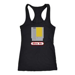 Blow Me Funny Game Tank Top - Trendsy Tees