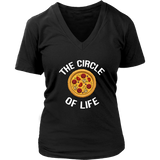 The Circle of Life Pizza T-Shirt - Trendsy Tees