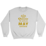 Queens Are Born In May - Trendsy Tees