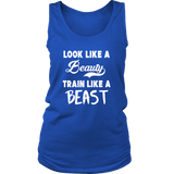 Look Like A Beauty Train Like A Beast Tank Top - Trendsy Tees
