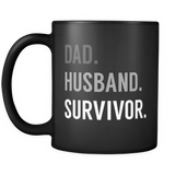 Dad Husband Survivor Mug - Trendsy Tees