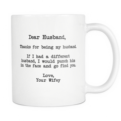 Dear Husband Mug - Trendsy Tees