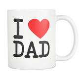I Love Dad Mug - Trendsy Tees
