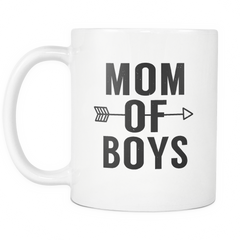 Mom of Boys Mug - Trendsy Tees