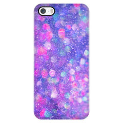 Pink & Blue Glitter Texture Phone Case - Trendsy Tees