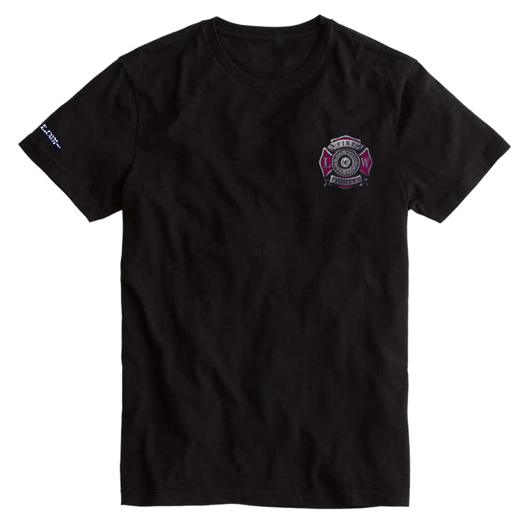 MEN Breast Cancer Awareness T-Shirt - Black