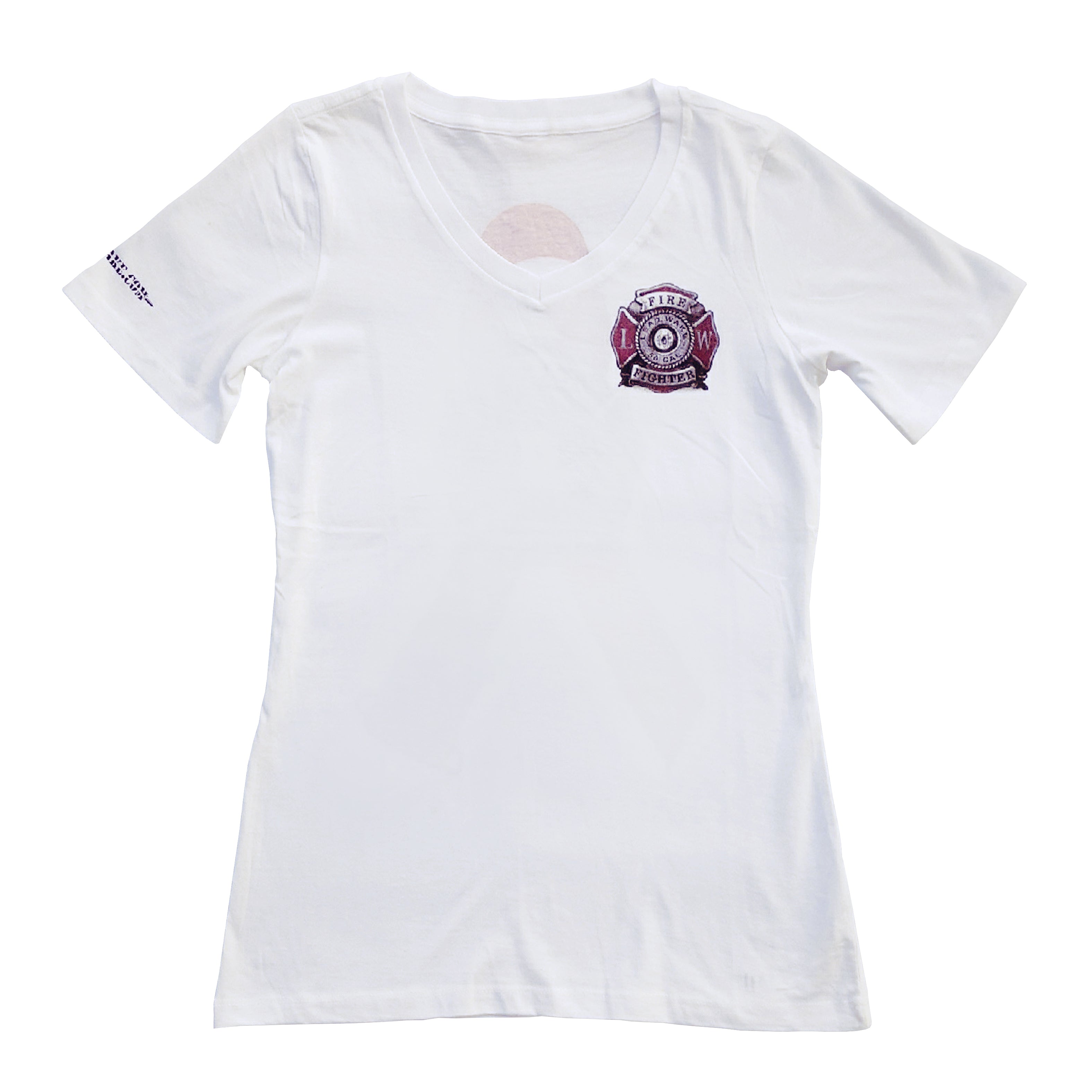Women's Breast Cancer Awareness<br> T-Shirt in White