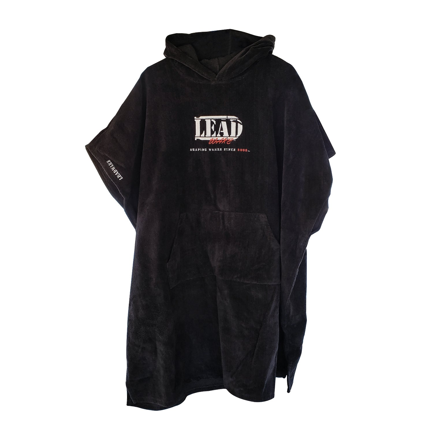 Lead Wake Black <br>Towel Poncho