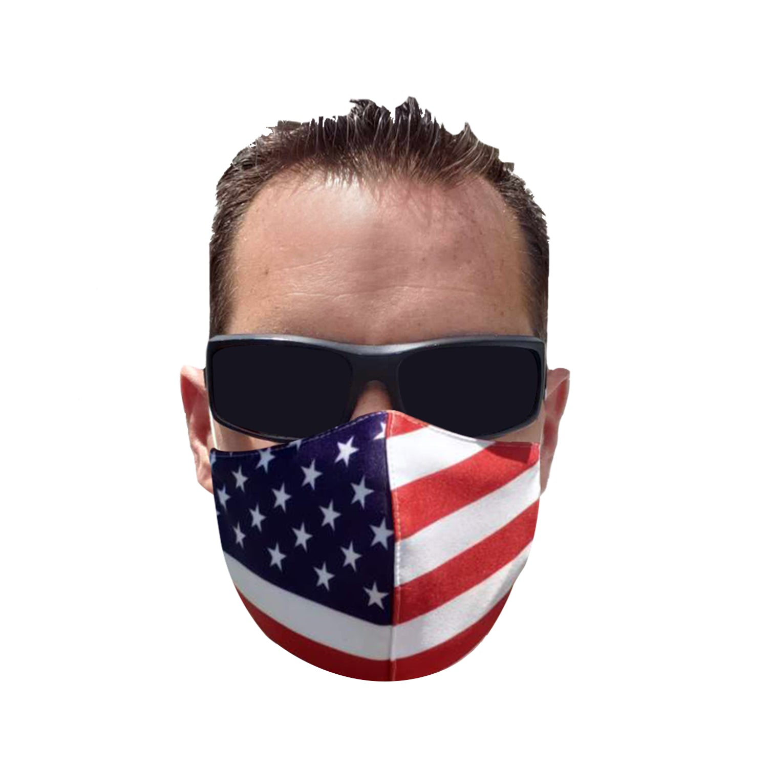 Lead Wake American<br> Flag Mask