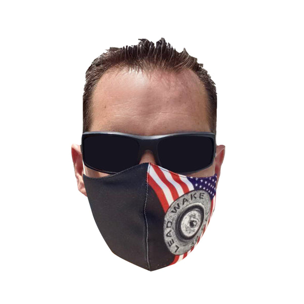 Lead Wake USA Mask