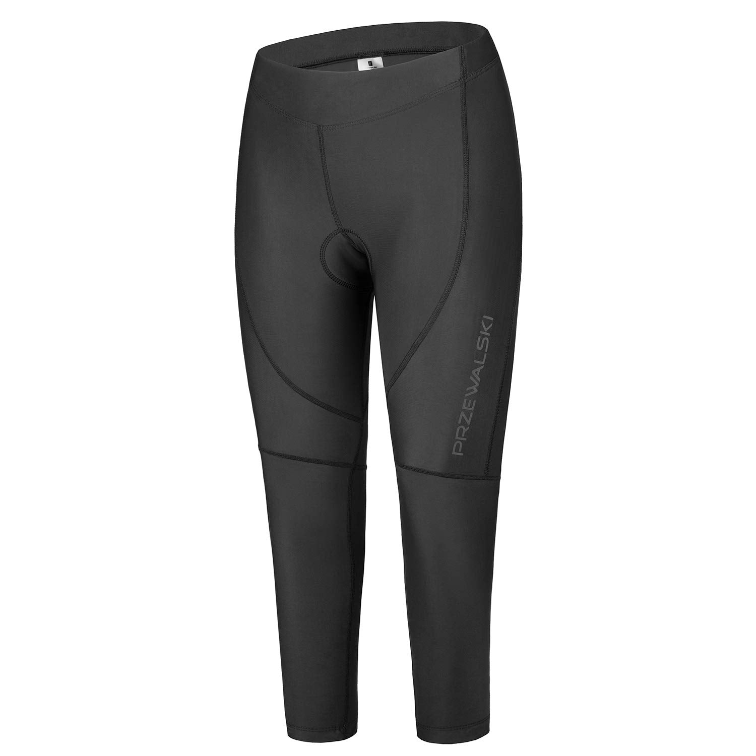 4D Padded Women's Cycling Tights, BASIC SERIES, Przewalski