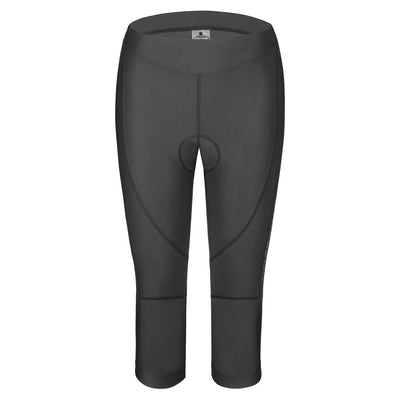 4D Padded Womens Cycling 3/4 Bike Tights, BASIC SERIES, Przewalski - Przewalski