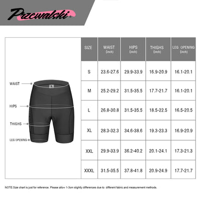 4D Padded Womens Bike Shorts for Cycling, BASIC SERIES, Przewalski - Przewalski