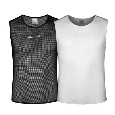 Przewalski Men's Sleeveless Cycling Base Layer Undershirt, Superlight and Moisture Wicking top Shirt for Sports – Breathable & Comfortable - Przewalski