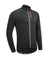 Men's Cycling Softshell Windproof Waterproof Black Jacket, Basic Series, Przewalski